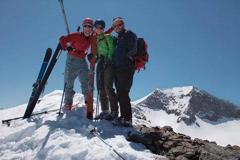Summit portrait