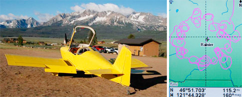 John Scurlock\'s plane