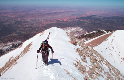 High above Moab