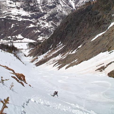 Skiing Abrams Mountain