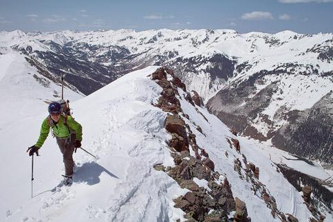 Abrams Mountain ridgeline