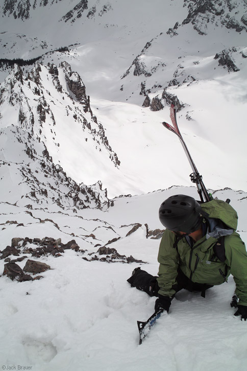 Pearl Couloir, Cathedral Peak