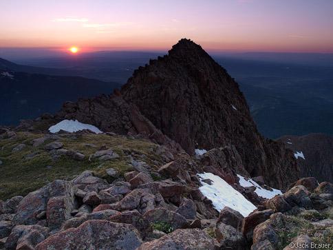 Sneffels Range sunset