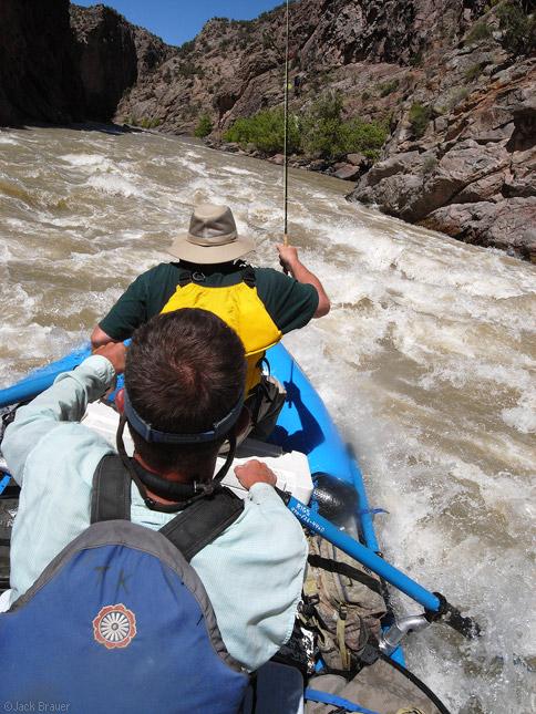 Gunnison Gorge rapids