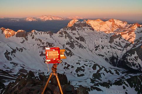4x5 on Sneffels summit