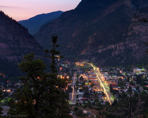 Ouray at Dusk