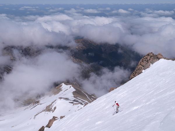 Skiing Mt. Hutt