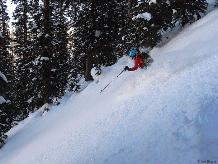 Skiing the Powder