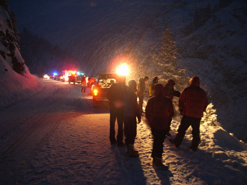Ouray Mountain Rescue Team