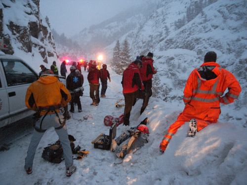 Red Mountain Pass Rescue