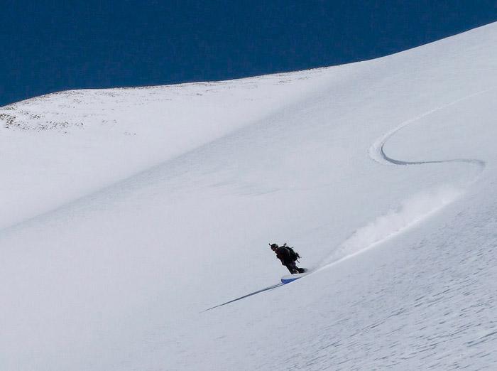 backcountry snowboarding
