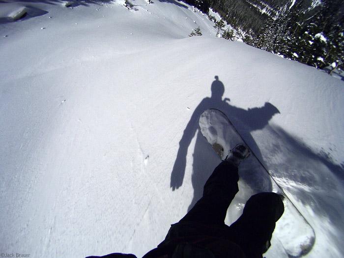 Snowboard helmet cam