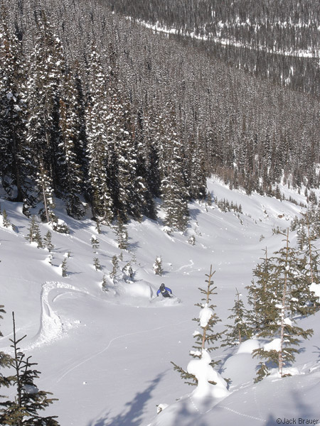 Backcountry skiing
