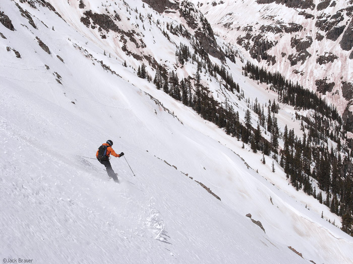 backcountry skiing colorado