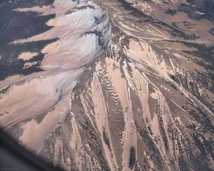 Dust covered mountains in Colorado