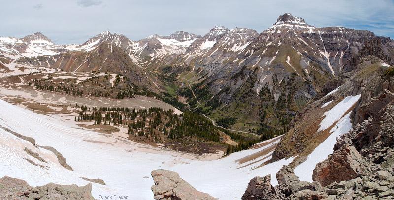 Sneffels Range panorama