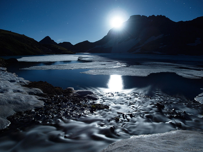 Columbine Lake Moonlight