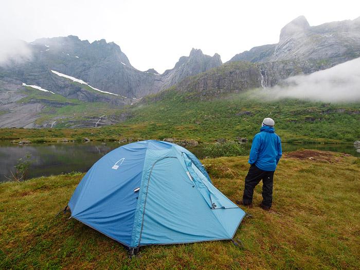 Camping in Lofoten
