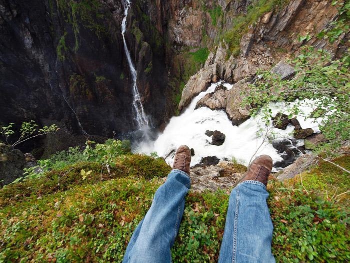 Vøringfossen waterfall Norway