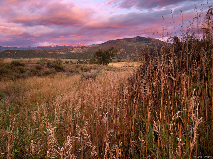 Sunset in Ridgway, Colorado