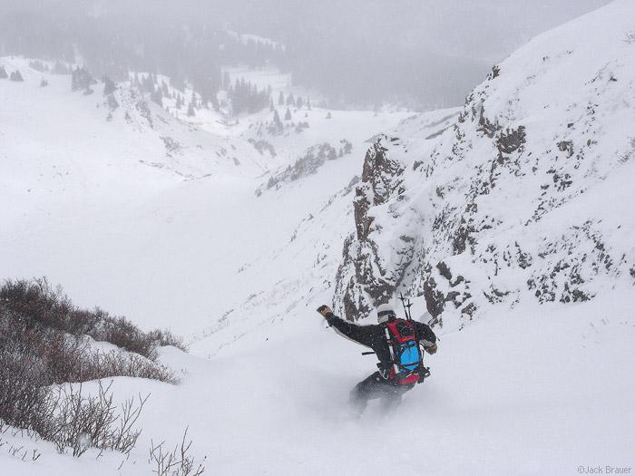 snowboarding in october