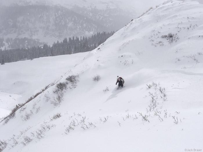 snowboarding in colorado