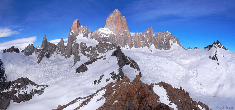 Monte Fitz Roy panorama, Patagonia