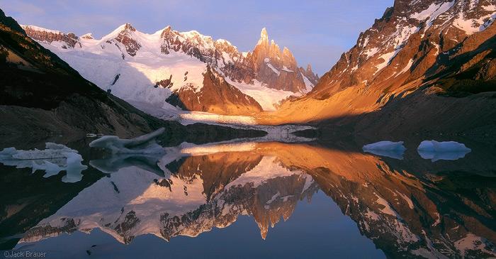 Cerro Torre Reflection, Patagonia
