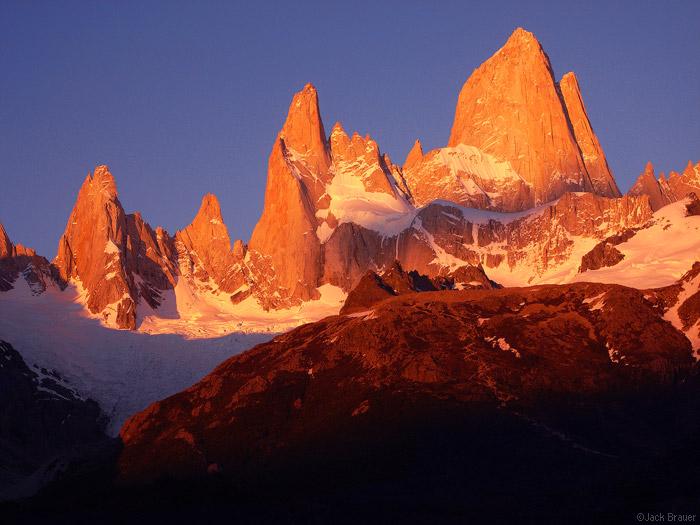 Monte Fitz Roy sunrise, Patagonia