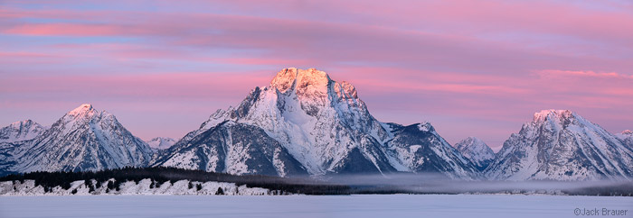 Mt. Moran Sunrise