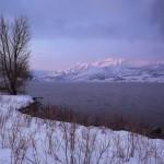 Mount Timpanogos winter
