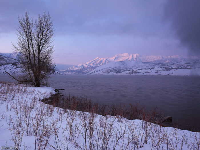 Mount Timpanogos winter