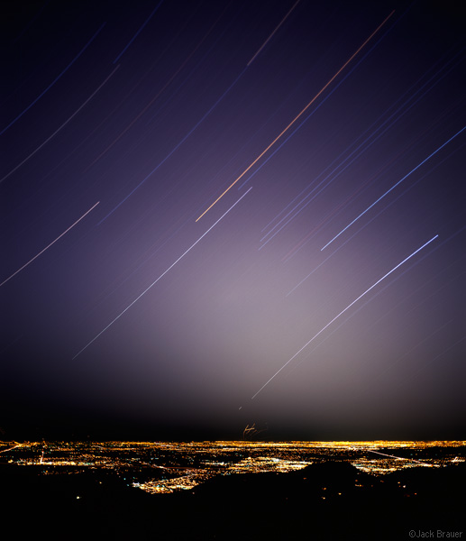 Star Trails over Denver