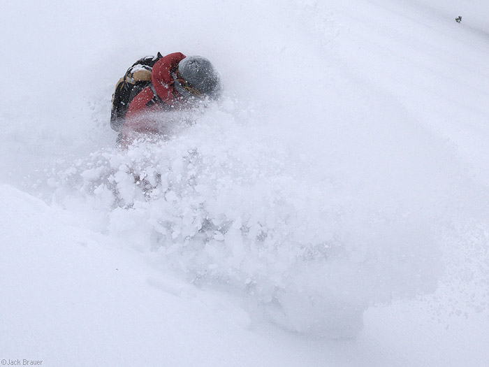 powder face shot