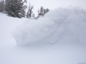 Carving the powder