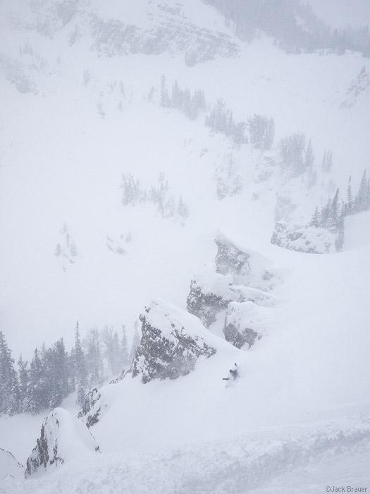 Jackson Hole snowboarding