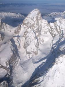 Grand Teton Aerial Photo