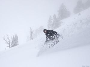 Teton Pass snowboarding