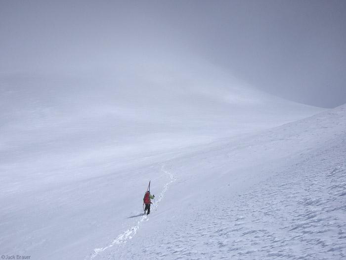 hiking Mt. Adams