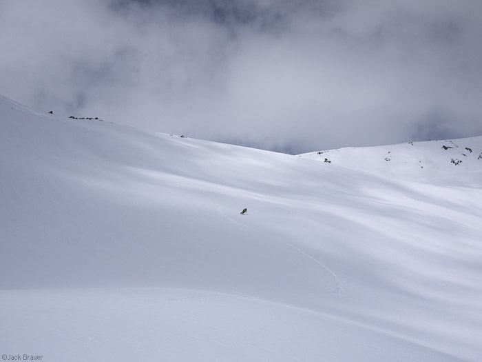 Skiing Crescent Glacier, Mt. Adams