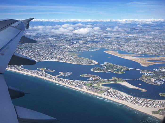 aerial photo of Mission Bay