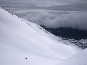 Skiing Mt. St. Helens