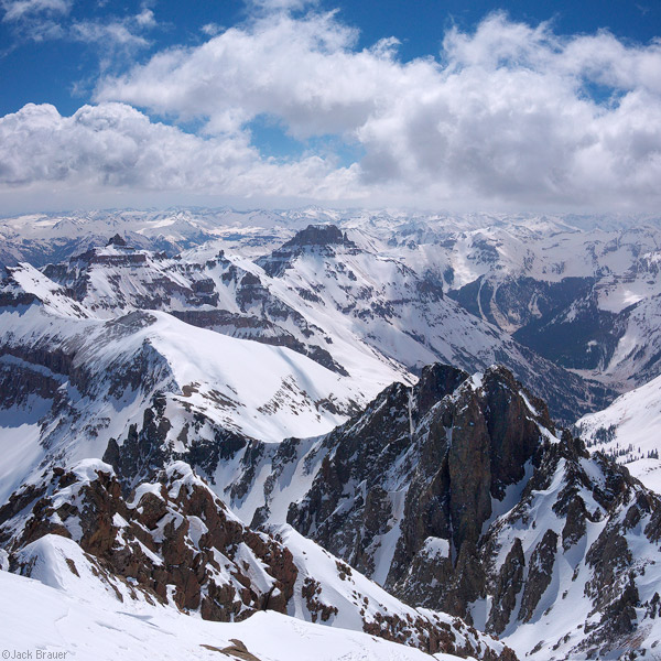 Sneffels Summit View, May 2010