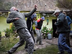 Dancing in Peru