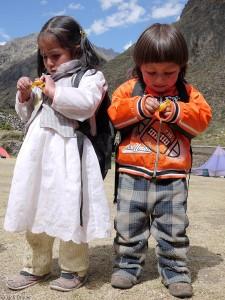 kids in Huayllapa