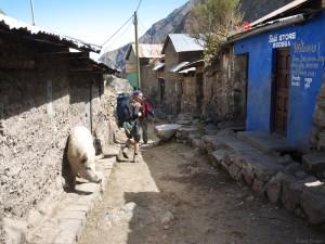 Huayllapa village