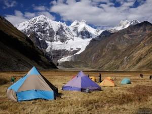 Jirishanca Camp