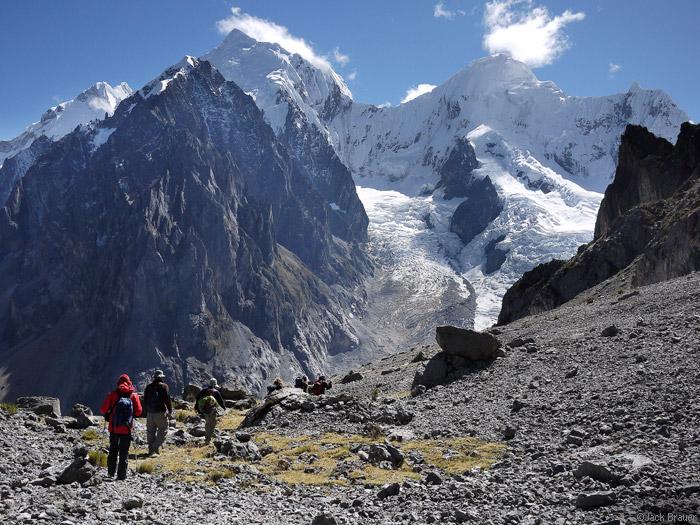 hiking Siula, Huayhuash