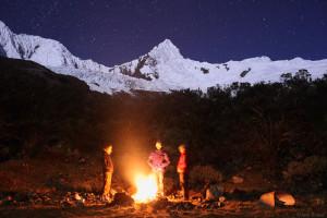 Tullparaju Moonlight Campfire