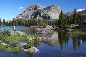 Flint Lake, Weminuche Wilderness, Colorado
